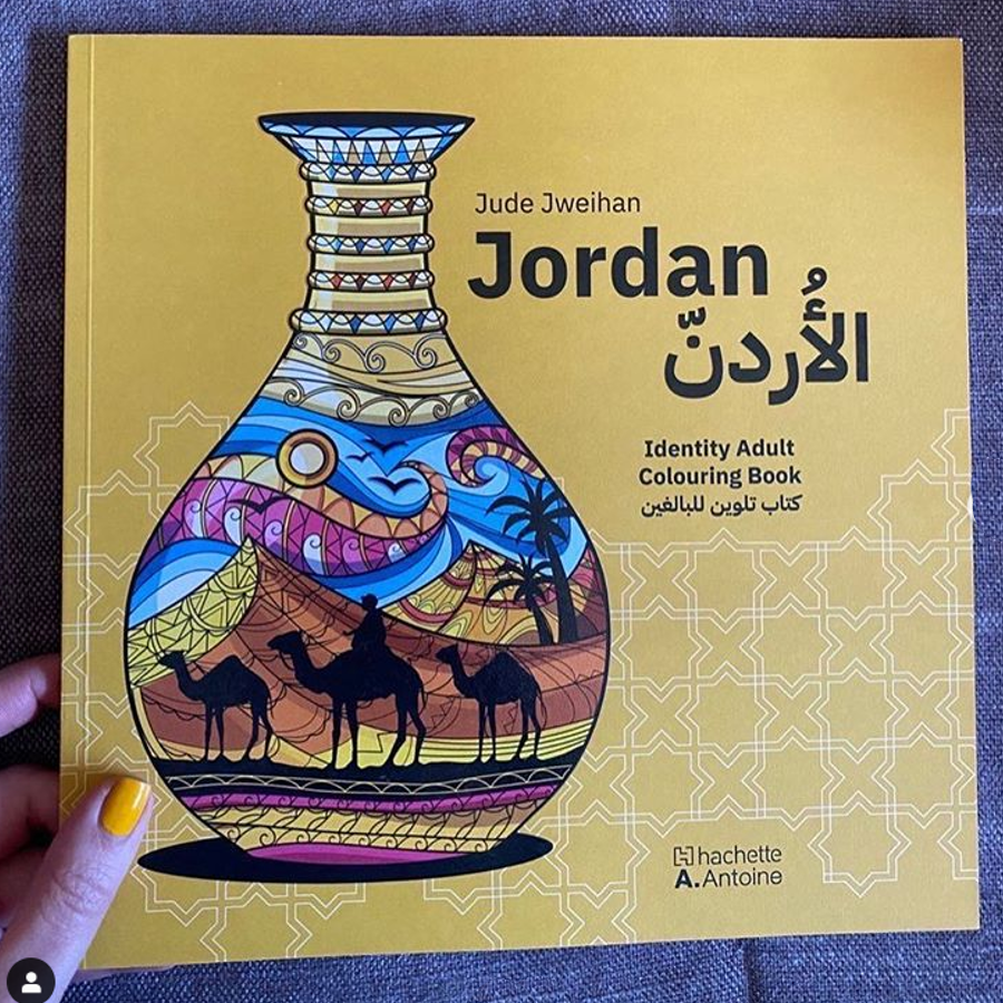 Jordan colouring book